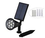 Газонні світильник на сонячній батареї мультикольорової 7 LED, фото 7