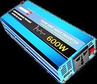 Преобразователь Напряжения (Инвертор) Powerone 12- 220V - 600W - Чистая Синусоида, фото 1