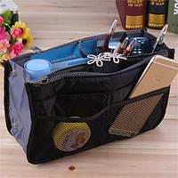Многофункциональный Органайзер в сумку Bag in Bag (Черный)