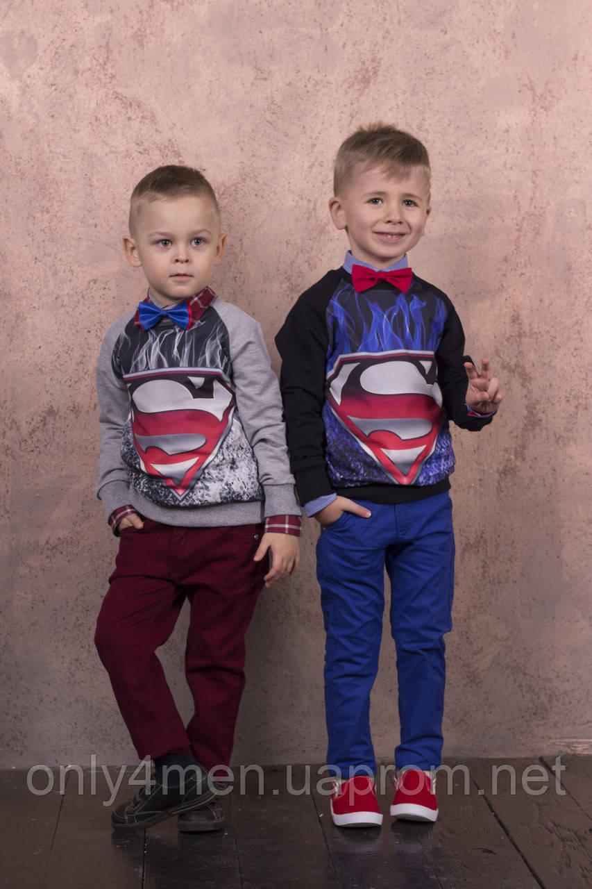 Батник, кофта,свитшот  для мальчиков на 5-14лет