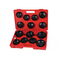 Комплект съемников масляных фильтров 14 ед.(HS-E1245) HESHITOOLS, Китай