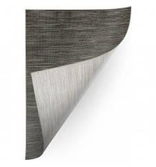 Ковер Лущув Double 160x230 см серый прямоугольный (B668)