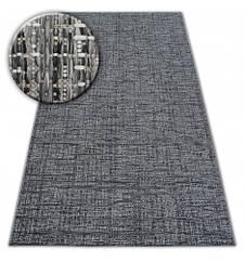 Ковер Лущув Loft 140x200 см серый прямоугольный (DEV1067)
