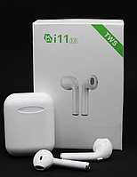 Наушники беспроводные  Bluetooth i11 TWS аналог Apple Airpods