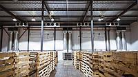 Приточная вентиляция склада хранения овощей