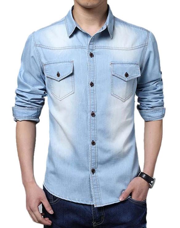Мужская рубашка AL-5911-20
