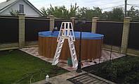 Лестница для каркасных сборных бассейнов Premium Atlantic Pools
