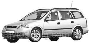 Стекло лобовое, заднее, боковые для Opel Astra G (Седан, Комби, Хетчбек) (1998-2008)