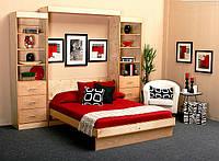 Встроенная в шкаф кровать (трансформер)  для спальни