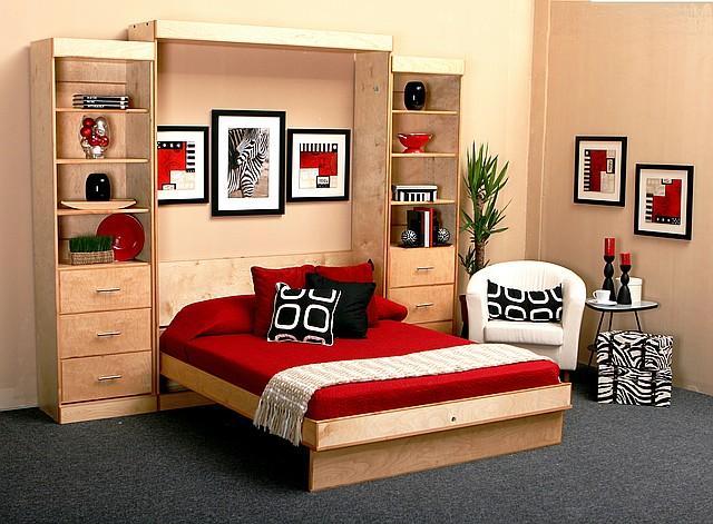 Встроенная в шкаф кровать (трансформер)  для спальни, фото 1
