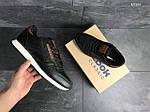 Мужские кроссовки Reebok (черно-белые), фото 2