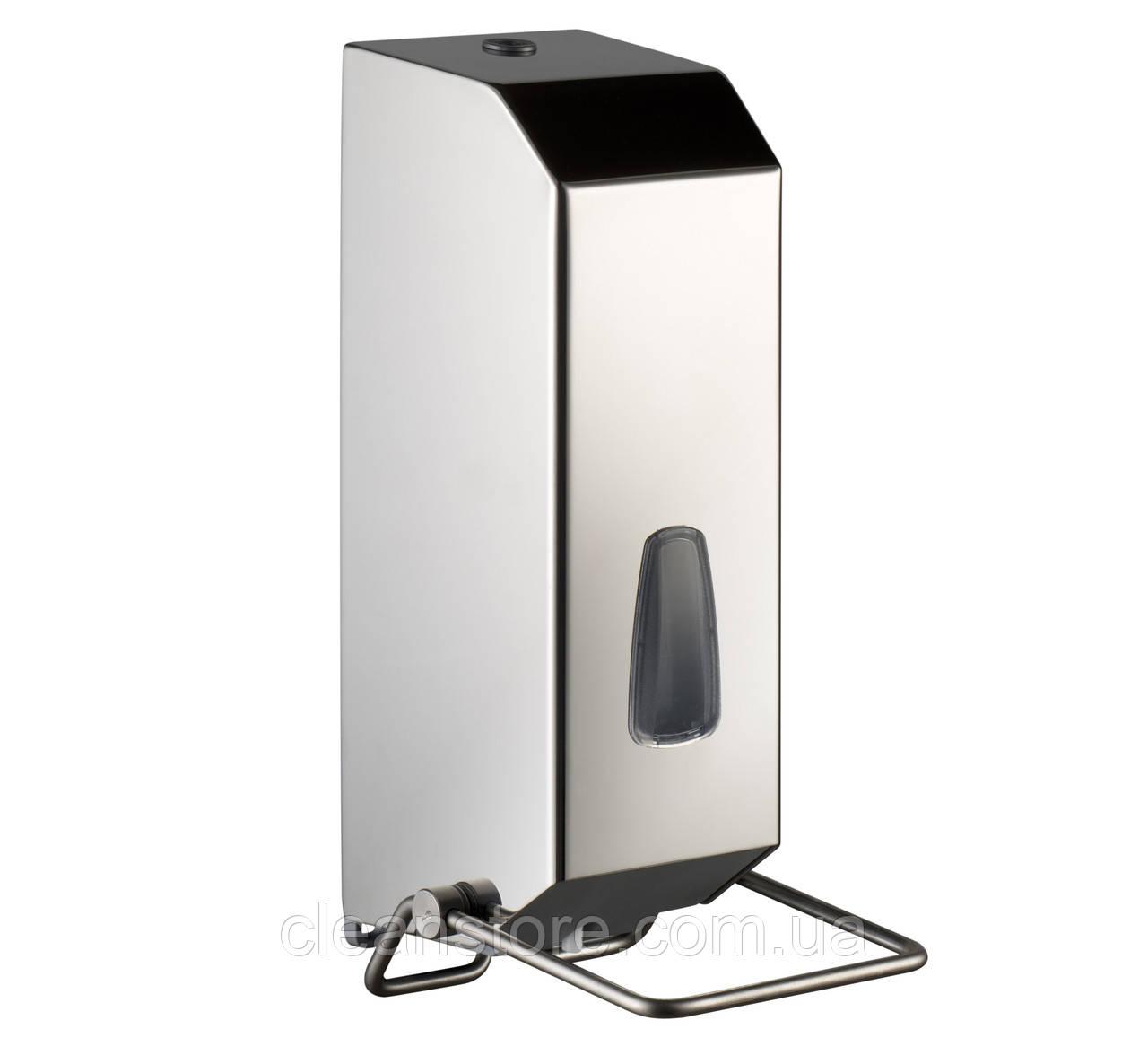 Дозатор жидкого мыла 1,2 л с локтевым устройством