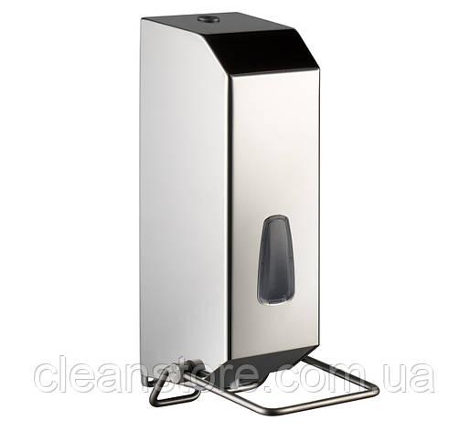 Дозатор жидкого мыла 1,2 л с локтевым устройством, фото 2