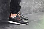 Мужские кроссовки Reebok (черно-белые), фото 4