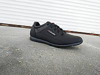 Кроссовки черные мужские кожаные Columbia 40 -45 р-р