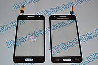 Тачскрин / сенсор (сенсорное стекло) Samsung Galaxy Core II 2 G355 | G355H (черный, SG-355H-R.30, самоклейка), фото 1