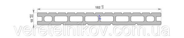 Террасная доска Хольцдорф-HOLZDORF Классик (182×18х2400 мм)