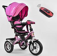 Детский трехколёсный велосипед коляска Бест Трайк Best Trike 5890-9067 розовый. Разные цвета.