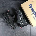Мужские кроссовки Reebok Daytona DMX (Черно-красные) , фото 5