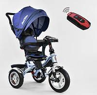 Детский трехколёсный велосипед коляска Бест Трайк Best Trike 5890-9367 синий. Разные цвета.