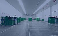 Вытяжная вентиляция склада хранения фруктов