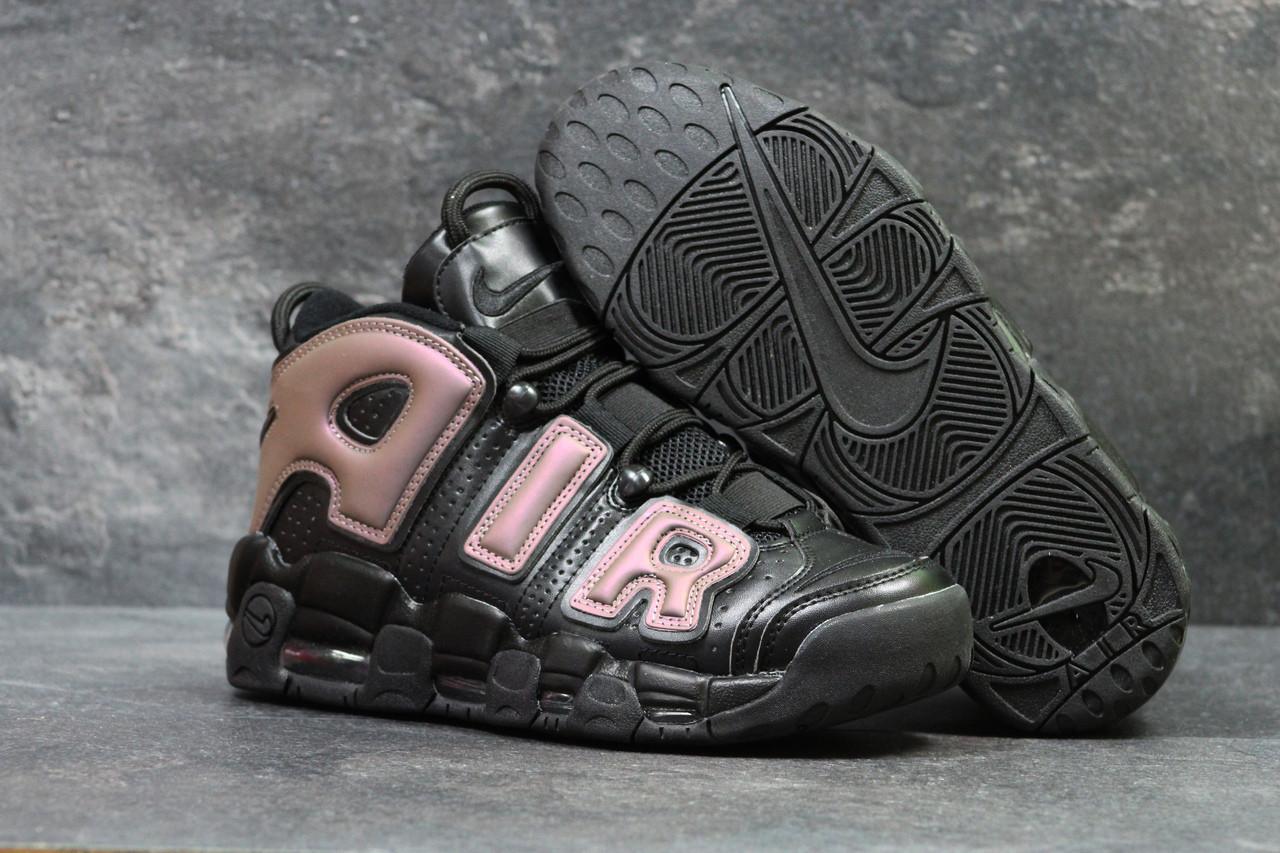 50afe81e Кроссовки мужские черно-медные Nike Air More Uptempo 96 5695 (найк чоловічі  кроси кросівки