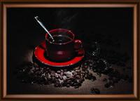 """Уникальная картина """"Кофейное наслаждение"""" ручная работа"""