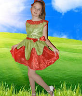 Карнавальный  новогодний костюм Цветок, клубничка, мак для девочки продажа, Киев