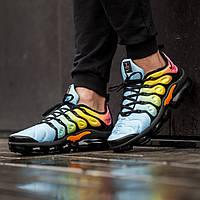 Мужские кроссовки в стиле Nike Air Vapormax Plus color (Реплика ААА+), фото 1