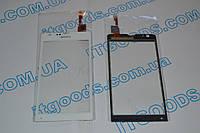 Оригинальный тачскрин / сенсор (сенсорное стекло) для Sony Xperia SP C5302 C5303 C5306 M35h M35i (белый)+СКОТЧ