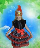 Карнавальный  костюм Карточная королева для девочки продажа, прокат