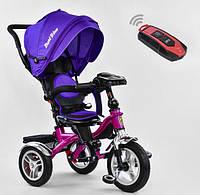 Детский трехколёсный велосипед коляска Бест Трайк Best Trike 5890-1009 фиолетовый. Разные цвета.