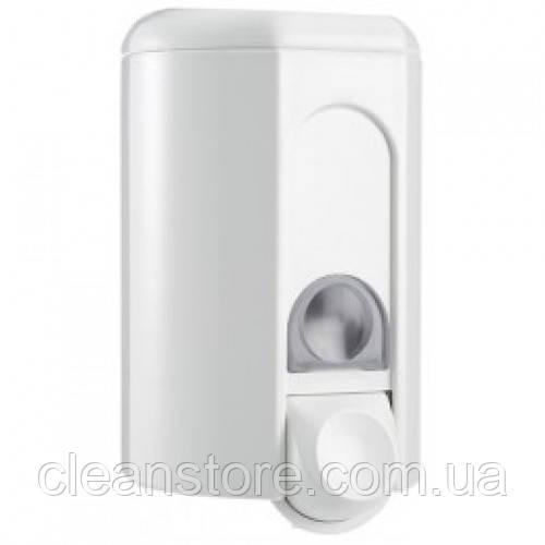 Дозатор жидкого мыла пластик белый