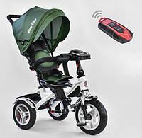 Детский трехколёсный велосипед коляска Бест Трайк Best Trike 5890-2265 зеленый. Разные цвета.