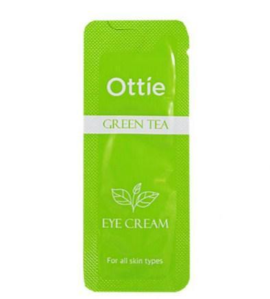 Пробник Крем вокруг глаз с зеленым чаем Ottie Green Tea Eye Cream, 1 шт