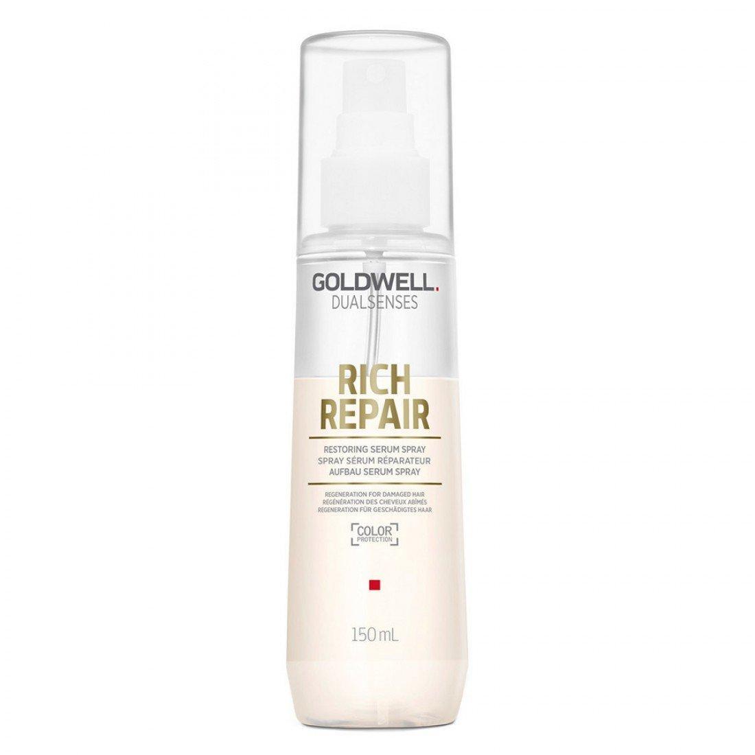 Восстанавливающая сыворотка-спрей для поврежденных волос Goldwell Dualsenses Rich Repair Restoring Serum Spray