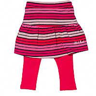 Юбка-лосины 2в1 для девочки 6-24 мес. (р. 74-92) ТМ Little Marcel Розовый в полосы LMRH0017-fuchsia