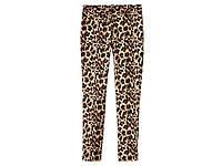 Брюки женские, классические, леопардовый принт (размер 44)