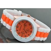 Часы наручные женские GENEVA sport Оранжевые