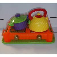 Набор посуды с газовой плитой 6 предметов 408 Юника