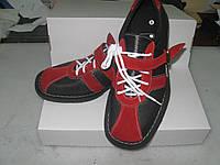 Штангетки кожа красные
