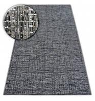 Ковер Лущув Loft 120x170 см серый прямоугольный (DEV1062)
