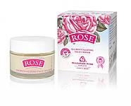 Восстанавливающий крем для лица с маслом розы Болгарская Роза Rose Original Q10 50 мл