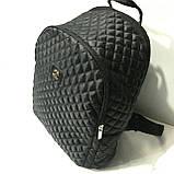 Рюкзаки женские стёганные Chanel (серый)28*34см, фото 4