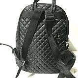 Рюкзаки женские стёганные Chanel (серый)28*34см, фото 5