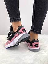 "✔️ Кроссовки Adidas Falcon Dorf ""Pink/Black""  , фото 3"