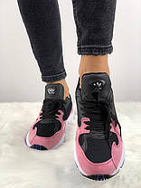 "✔️ Кроссовки Adidas Falcon Dorf ""Pink/Black""  , фото 2"