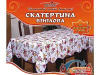 Скатерть на стол ПВХ MA-0323, 152*228см фланелевая основа