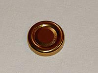 Крышка закаточная твист-офф размер 38 мм золото