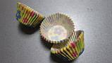 Форма для кексиков  жёлтые с цветочками, фото 2